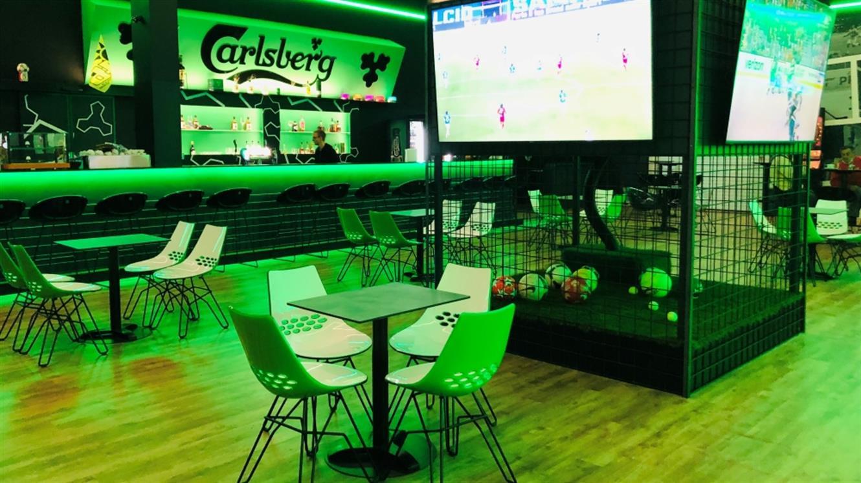 Novo: Športna hiša zabave s še več ponudbe in največjim športnim barom