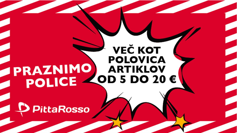 PittaRosso: praznimo police