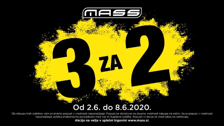 MASS: 3 za 2