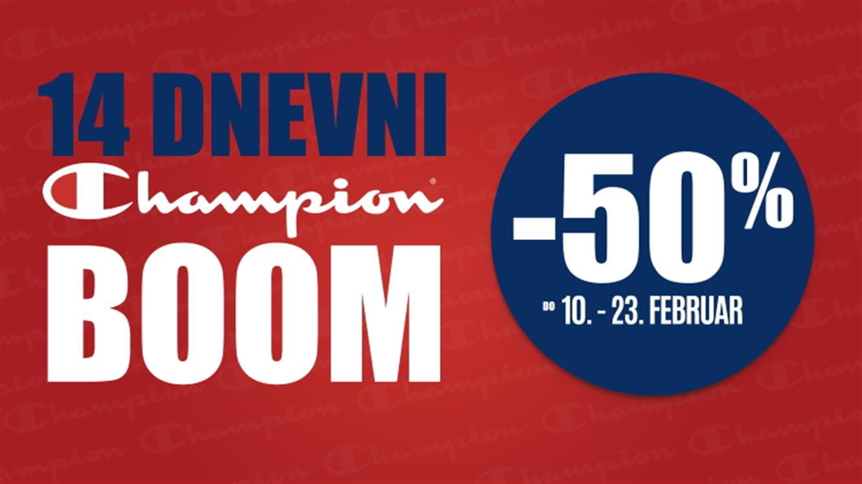 14-dnevni Champion BOOM