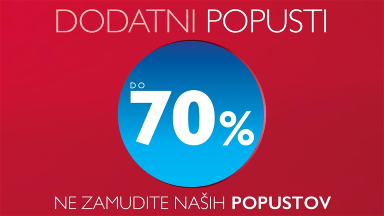 PittaRosso: Dodatni popusti do 70 %