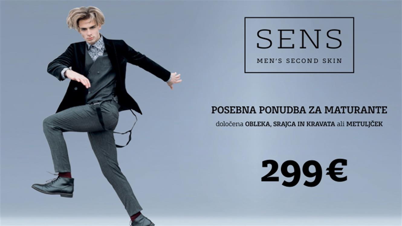 Sens: Posebna maturantska ponudba za 299 €