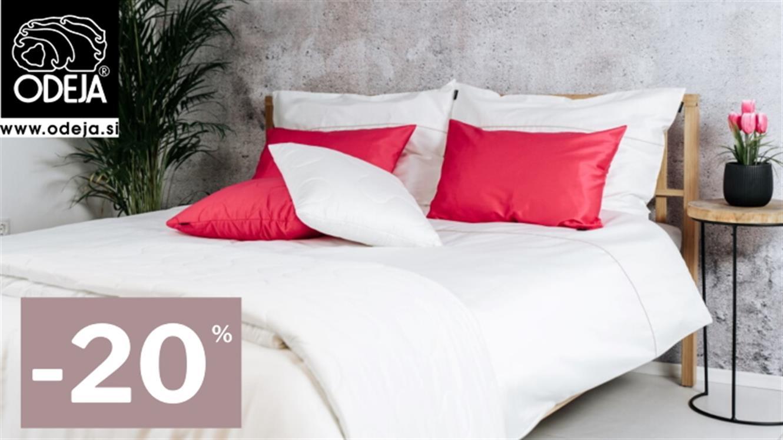 Odeja: 20 % popusta ob svetovnem dnevu spanja