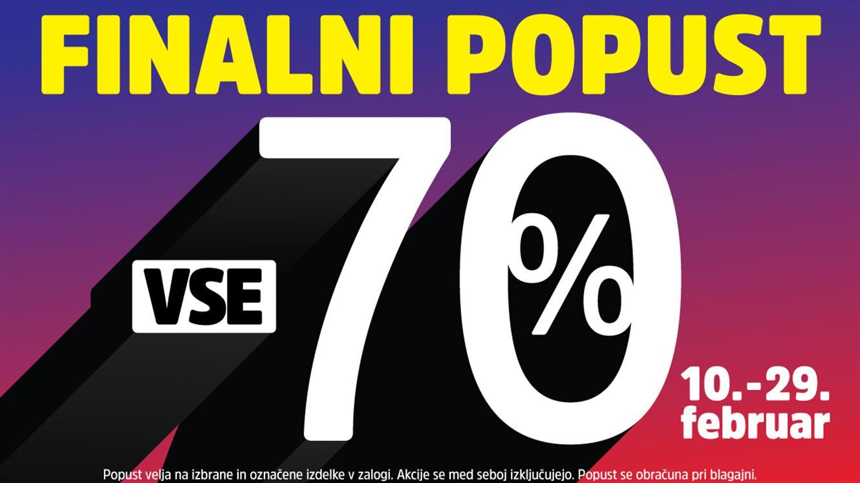 MANA: Finalni popust - 70 % na vse