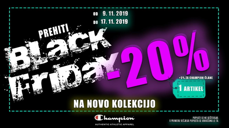 Prehiti Black Friday akcijo