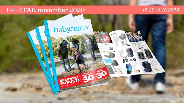 Baby Center: Nov mesečni letak, nove ugodnosti!