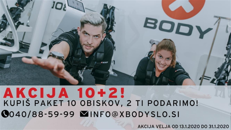 XBody Slovenija: 10+2 gratis