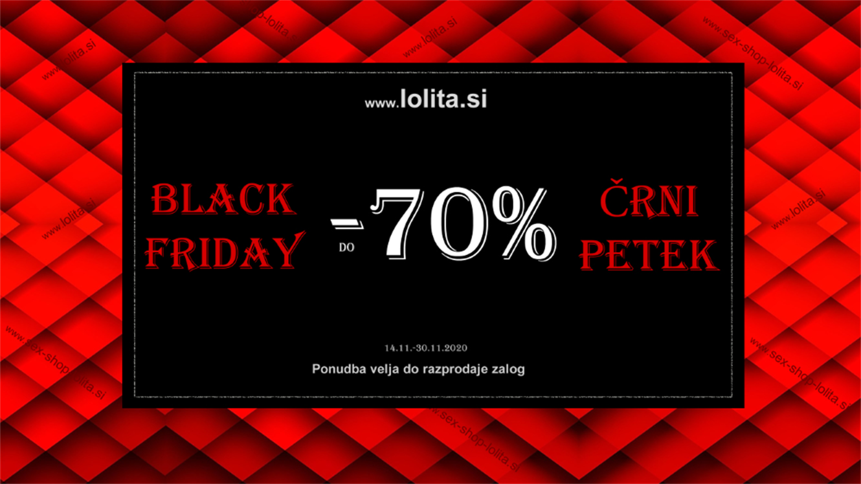 Lolita Erotic Shop: do - 70 % na izbrane izdelke