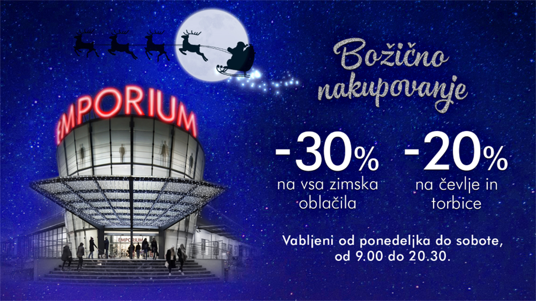 Emporium: božično nakupovanje