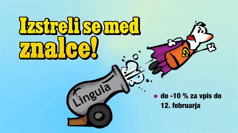 Lingula: Spregovorite v izbranem tujem jeziku