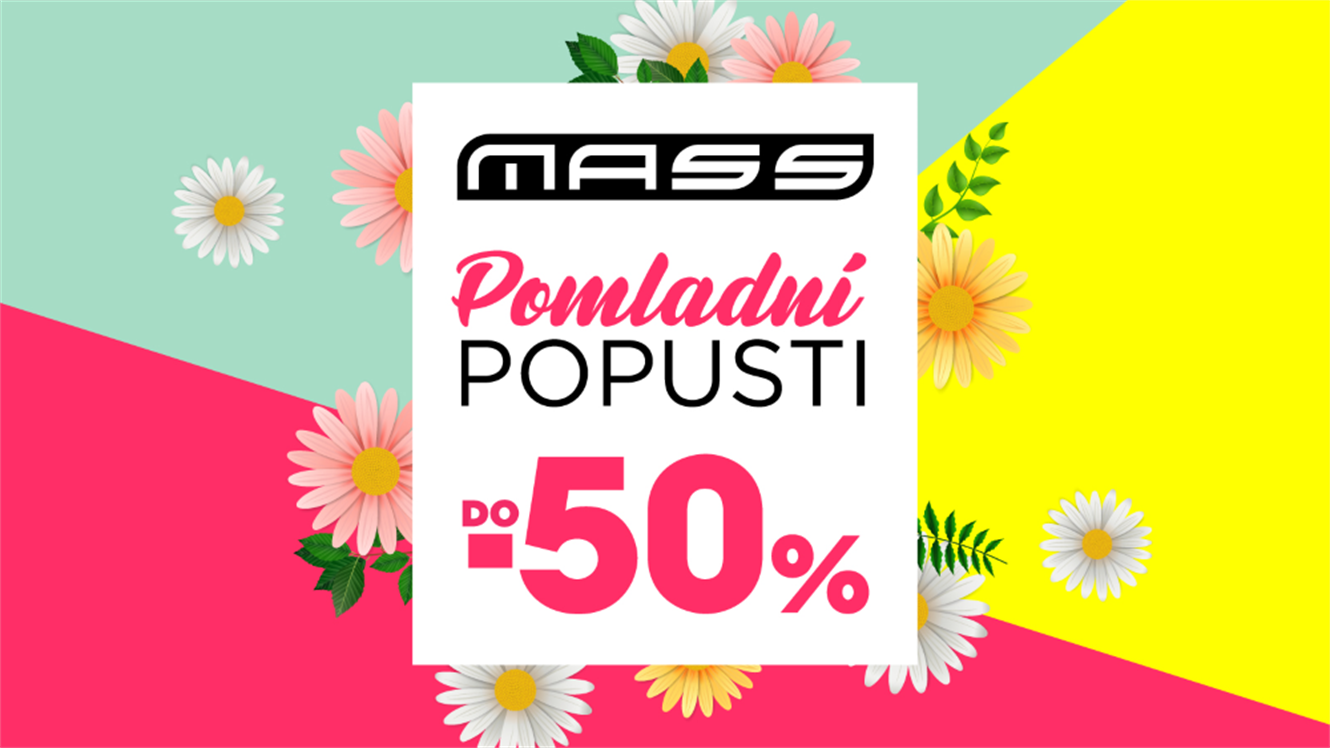 Mass: Pomladni popusti do - 50 %
