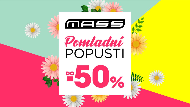 Mass: Pomladni popusti do - 50 %