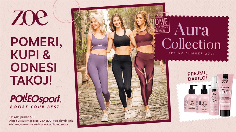 Polleo Sport: Aura - pomerite, kupite in odnesite!