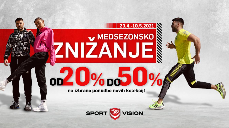 Sport Vision: Medsezonsko znižanje