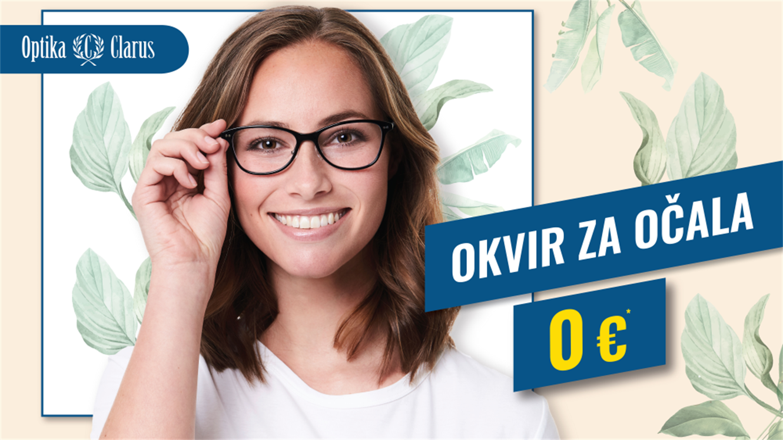 Optika Clarus: Okvir za očala 0 €