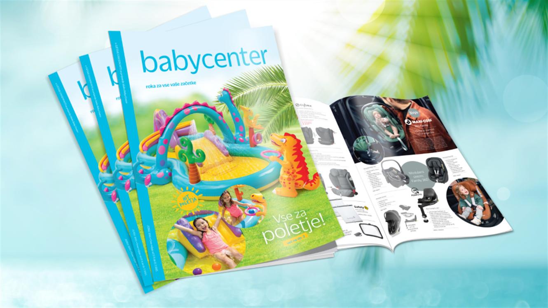 Baby Center: nov e-letak z ugodnostmi