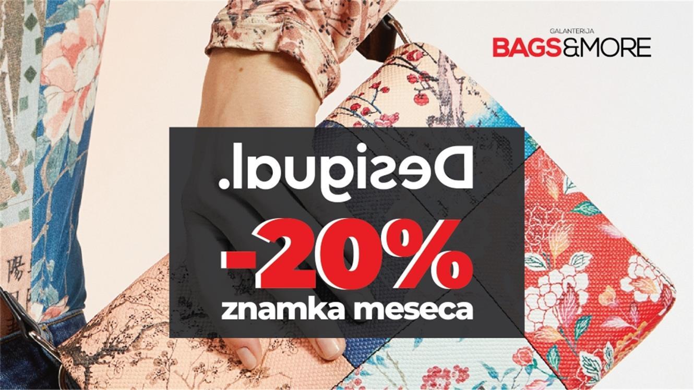 Bags&More: 20 % popusta na Desigual