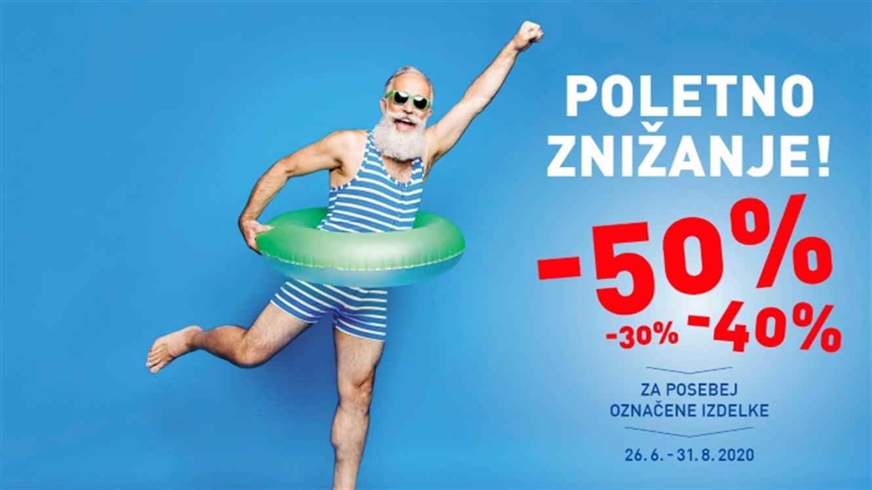 Poletno znižanje cen v Intersportu