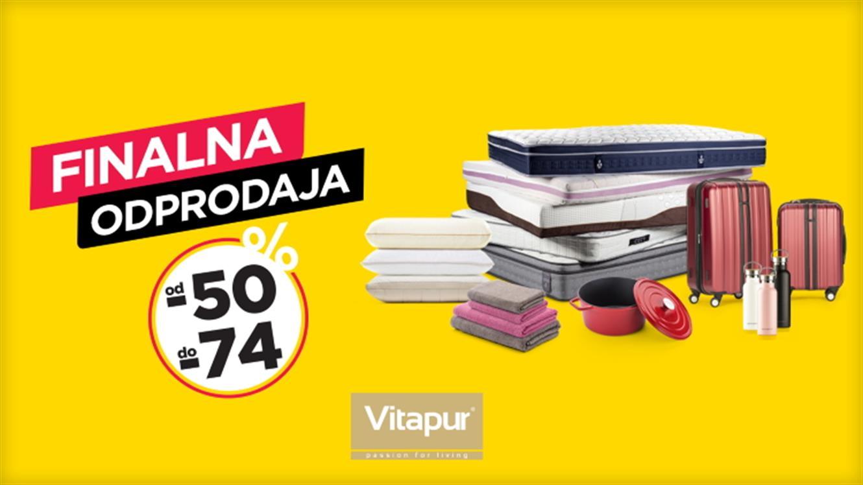 #Vitapur čisti poletne zaloge