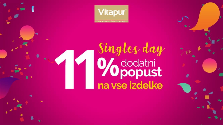 Vitapur akcija #Singles' Day