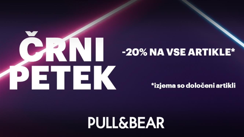 Pull and Bear: 20 % na vse artikle