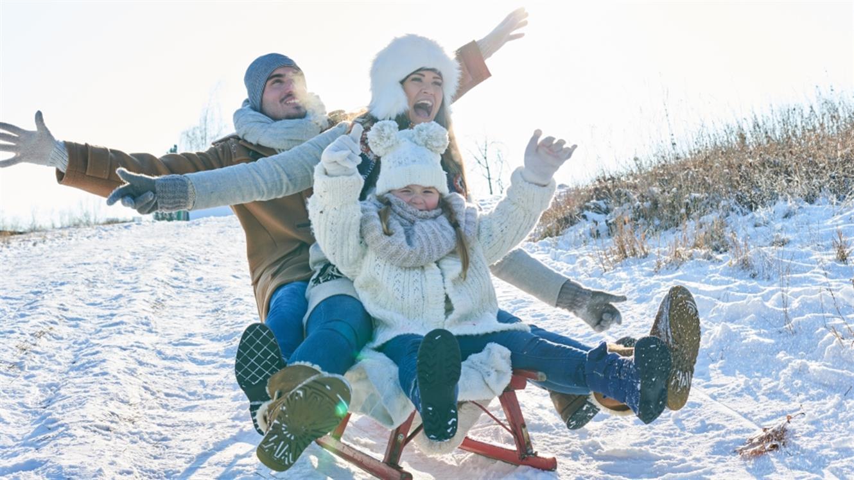 5 idej za družinsko zabavo na snegu