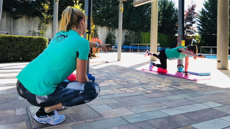 Fitnes klinika v objemu narave