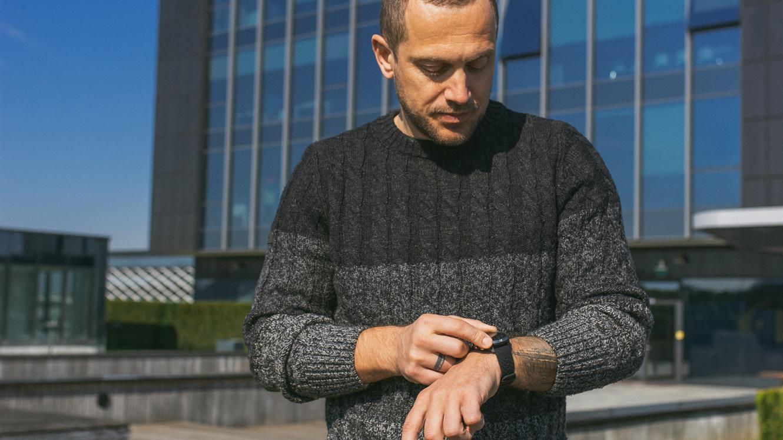 Jure Košir: Zakaj uporabljam športno uro