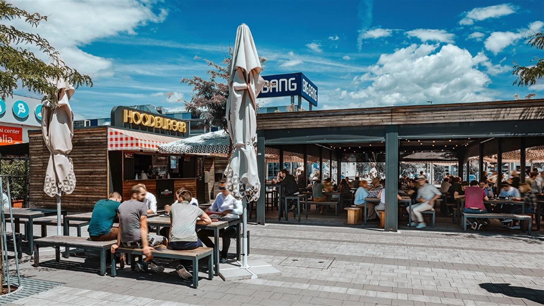 Kulinarični park na Tržnici BTC City: Okusno kosilo na prostem