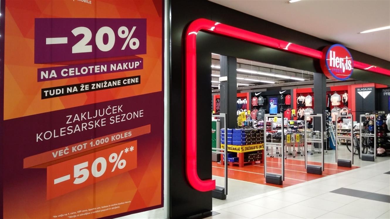 - 20 % na celoten nakup in - 50 % na označena kolesa