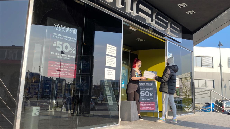 Novo: prevzemno mesto spletne trgovine MASS