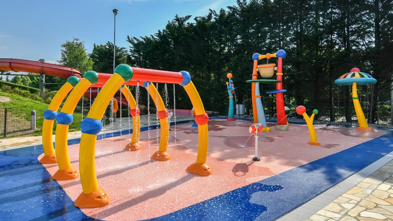 Novo v Atlantisu – Spray Park