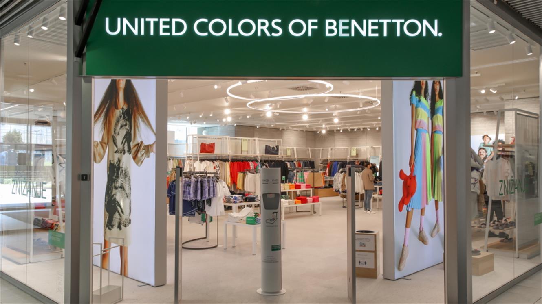 Novost: kar 2-krat Benetton v Dvorani A!