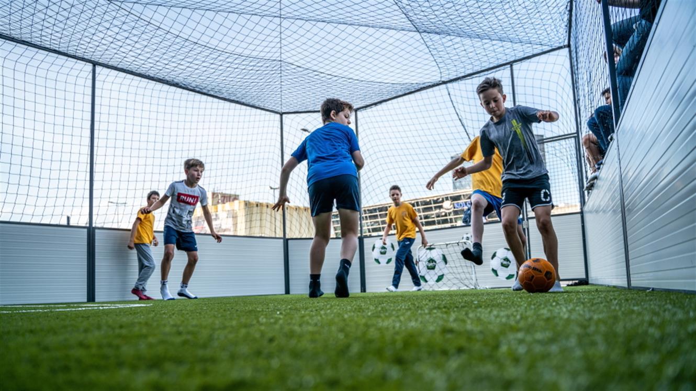 Počitnice novih generacij v Nogometni hiši zabave