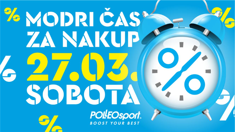 Polleo Sport: Modri čas za nakup