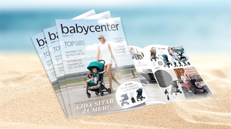 Prelistajte poletni e-letak Baby Centra