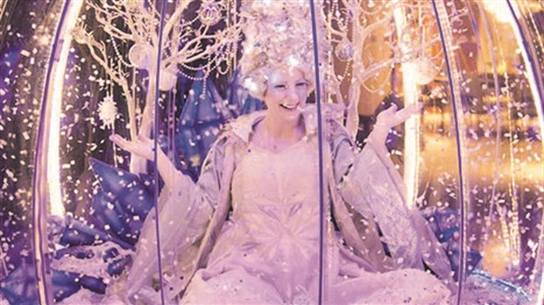 Obisk snežne kraljice