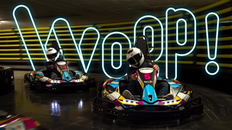 WOOP! karting ponovno vabi na vožnjo