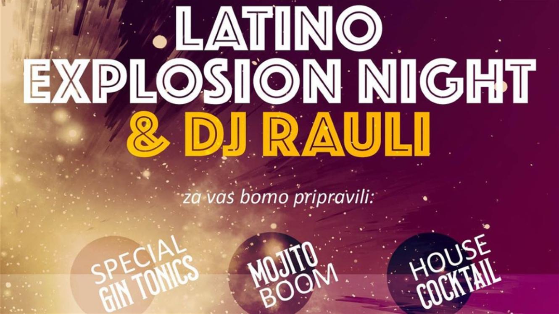 Gin's Bar & Lounge: Latino Explosion Night & DJ Rauli