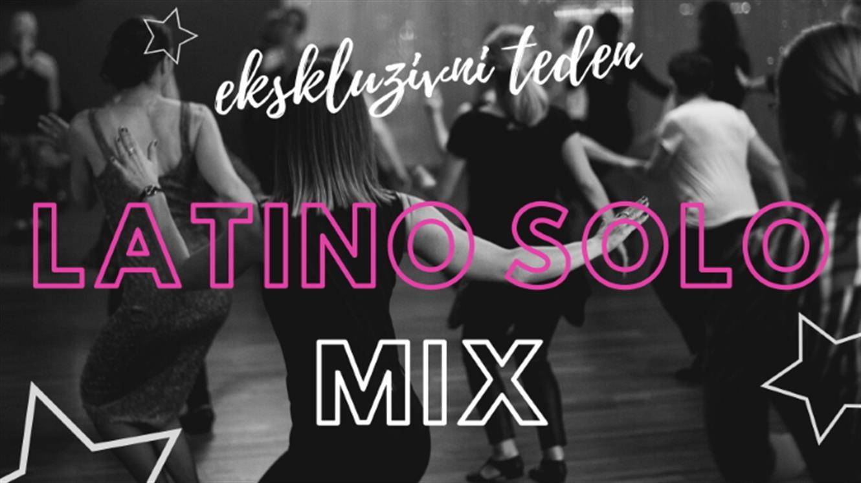 Plesna zvezda: Ekskluzivni Latino solo MIX