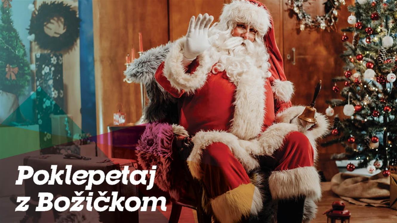 FB klepet z Božičkom