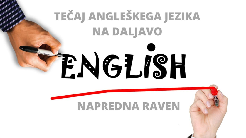 Tečaj angleškega jezika na daljavo – napredna raven