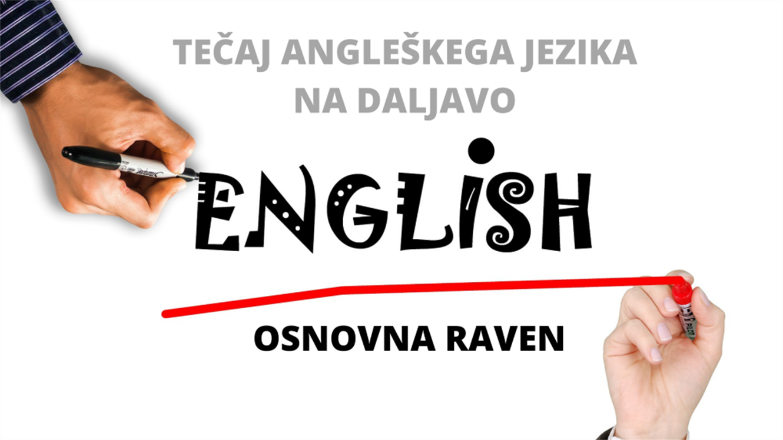 Tečaj angleškega jezika na daljavo – osnovna raven
