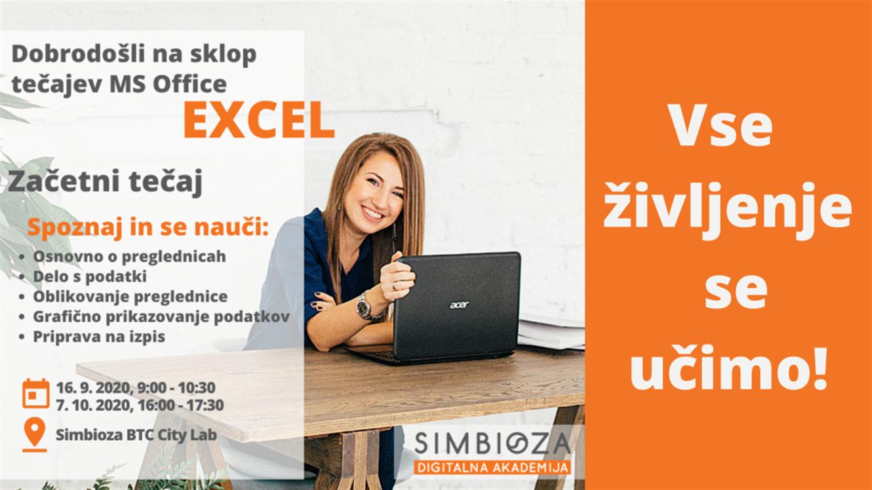 Excel specialist: Začetni tečaj MS Office Excel