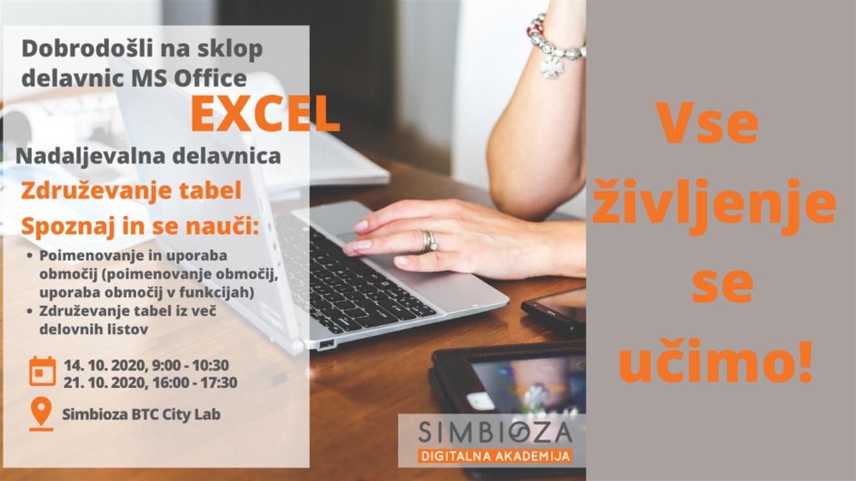 Excel Specialist: Združevanje tabel v MS Office Excel