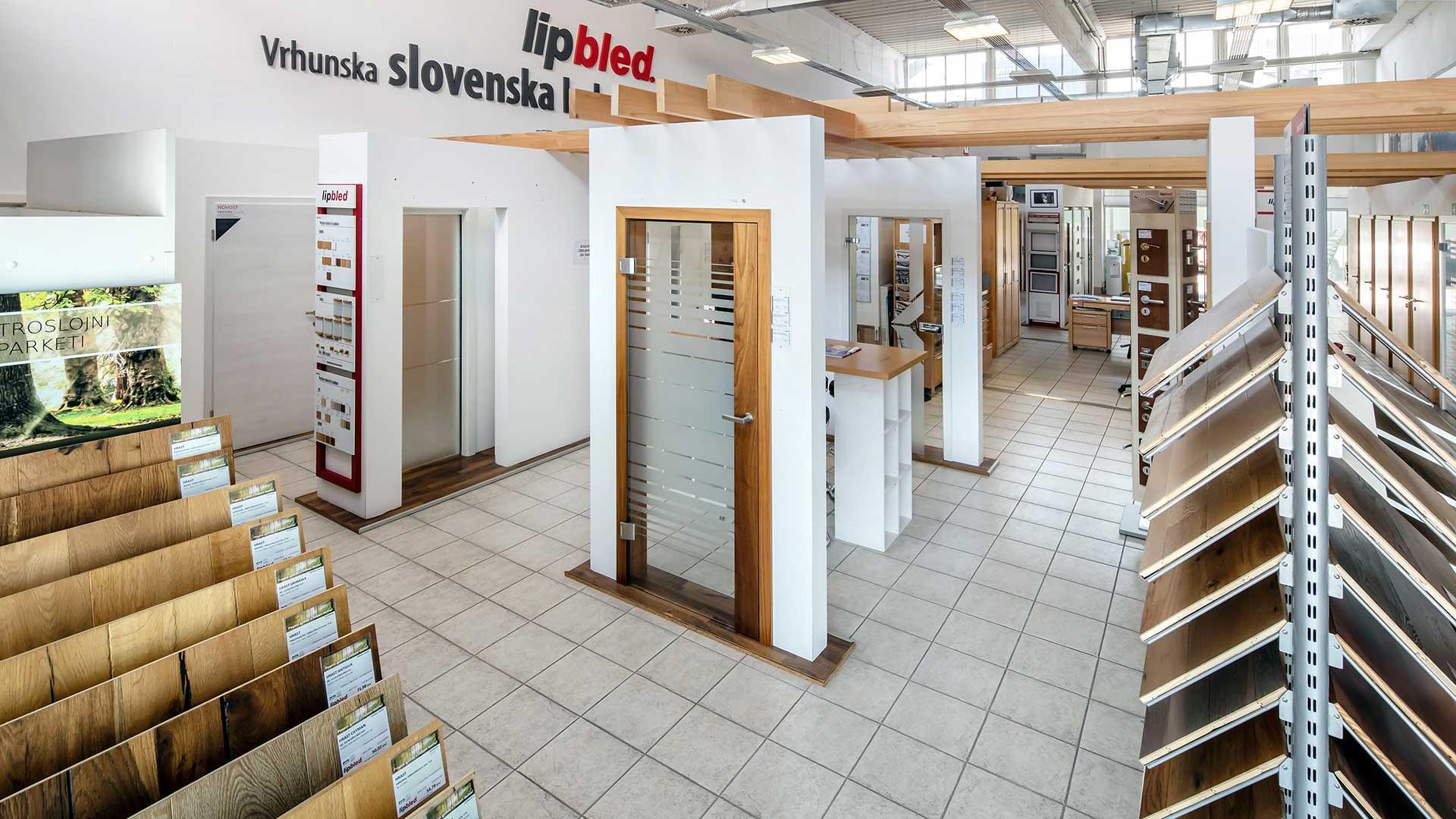LIP BLED, prodajni center BTC