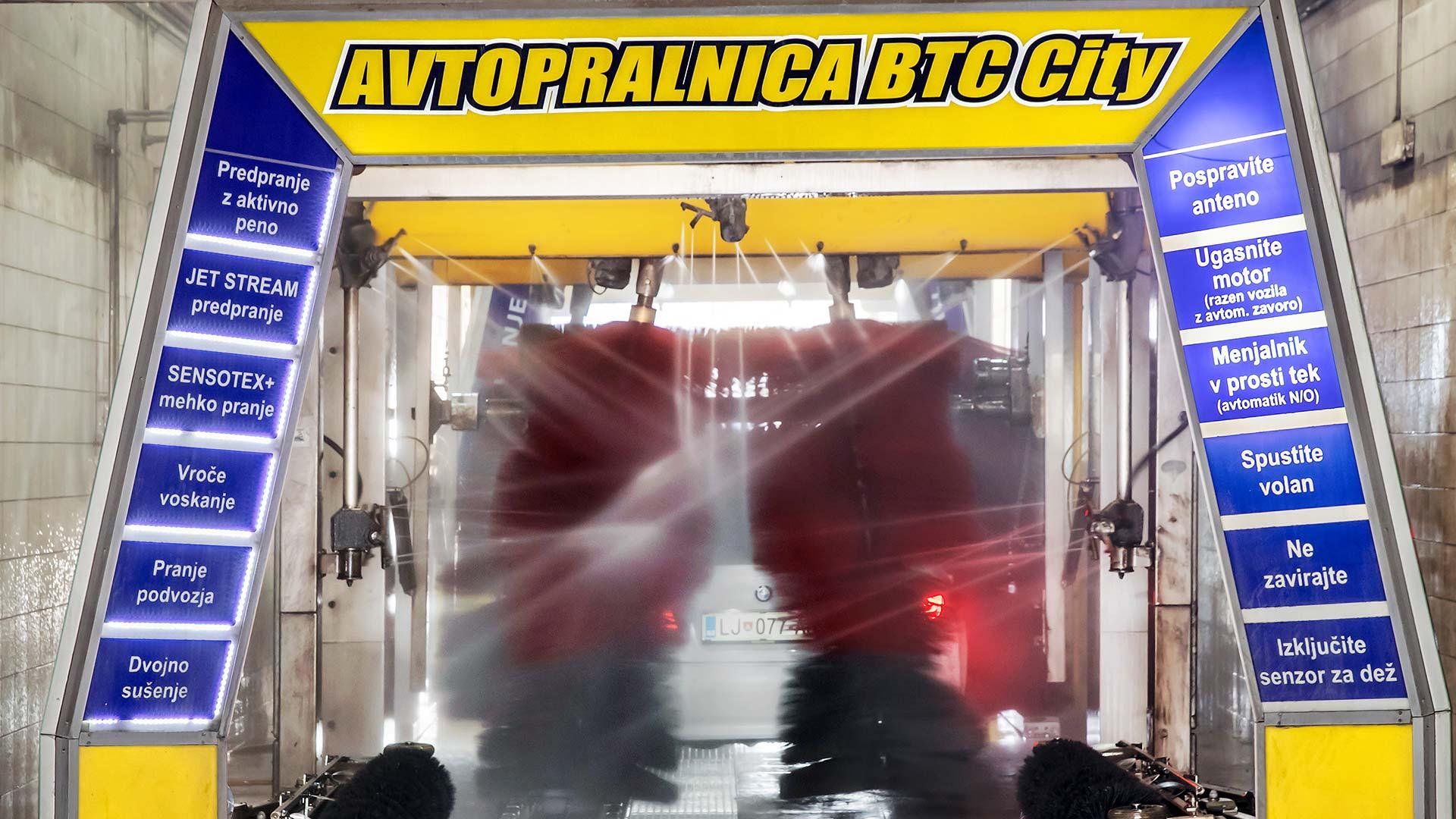 Avtopralnica BTC City