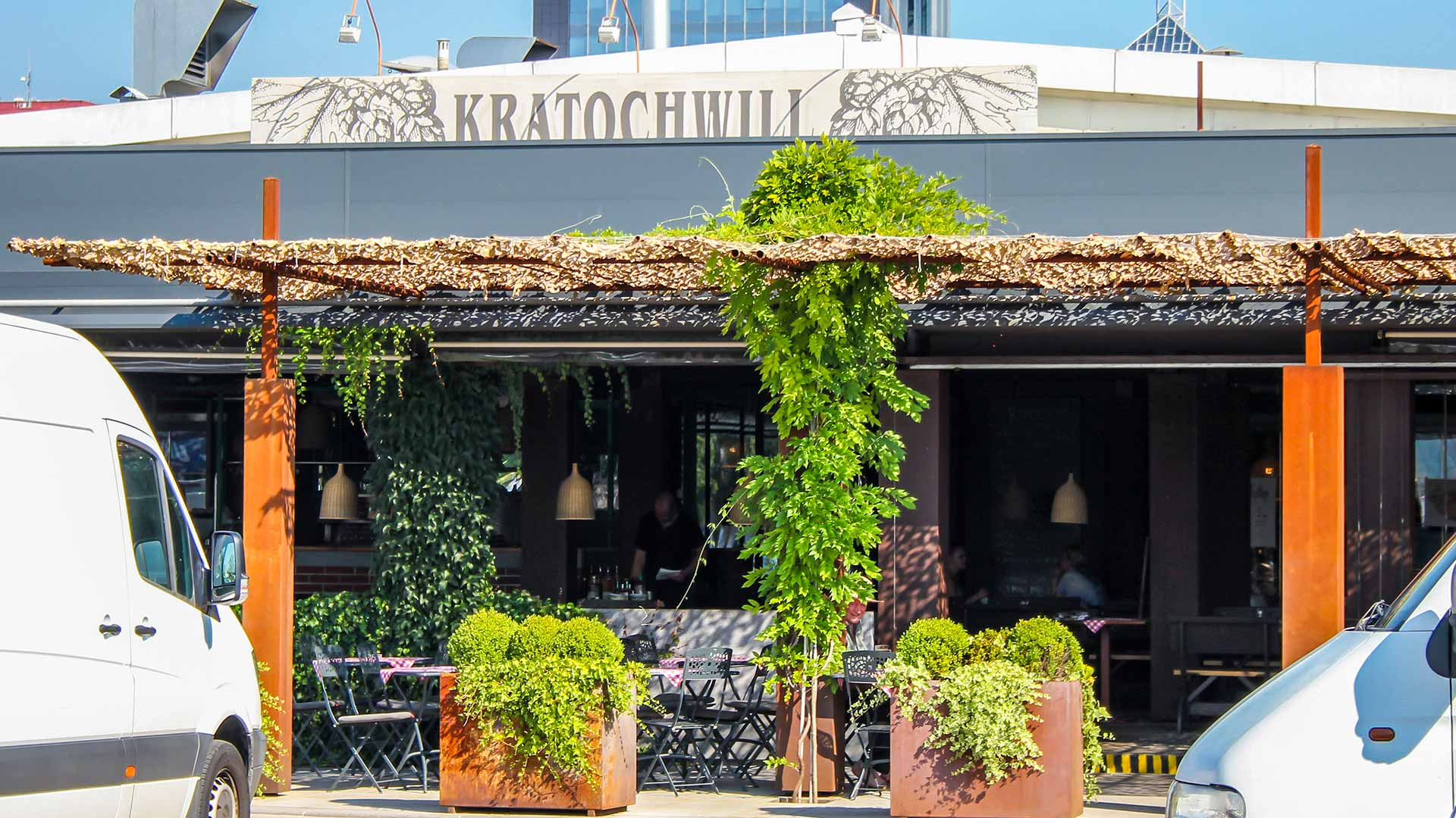 Kratochwill, gostilna, picerija in pivovarna