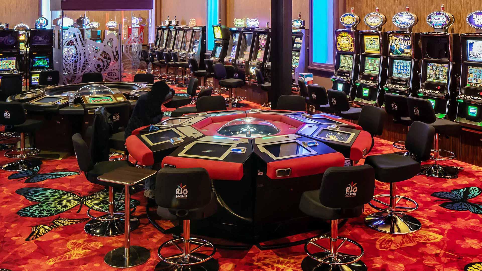 Casino Rio - igralni salon