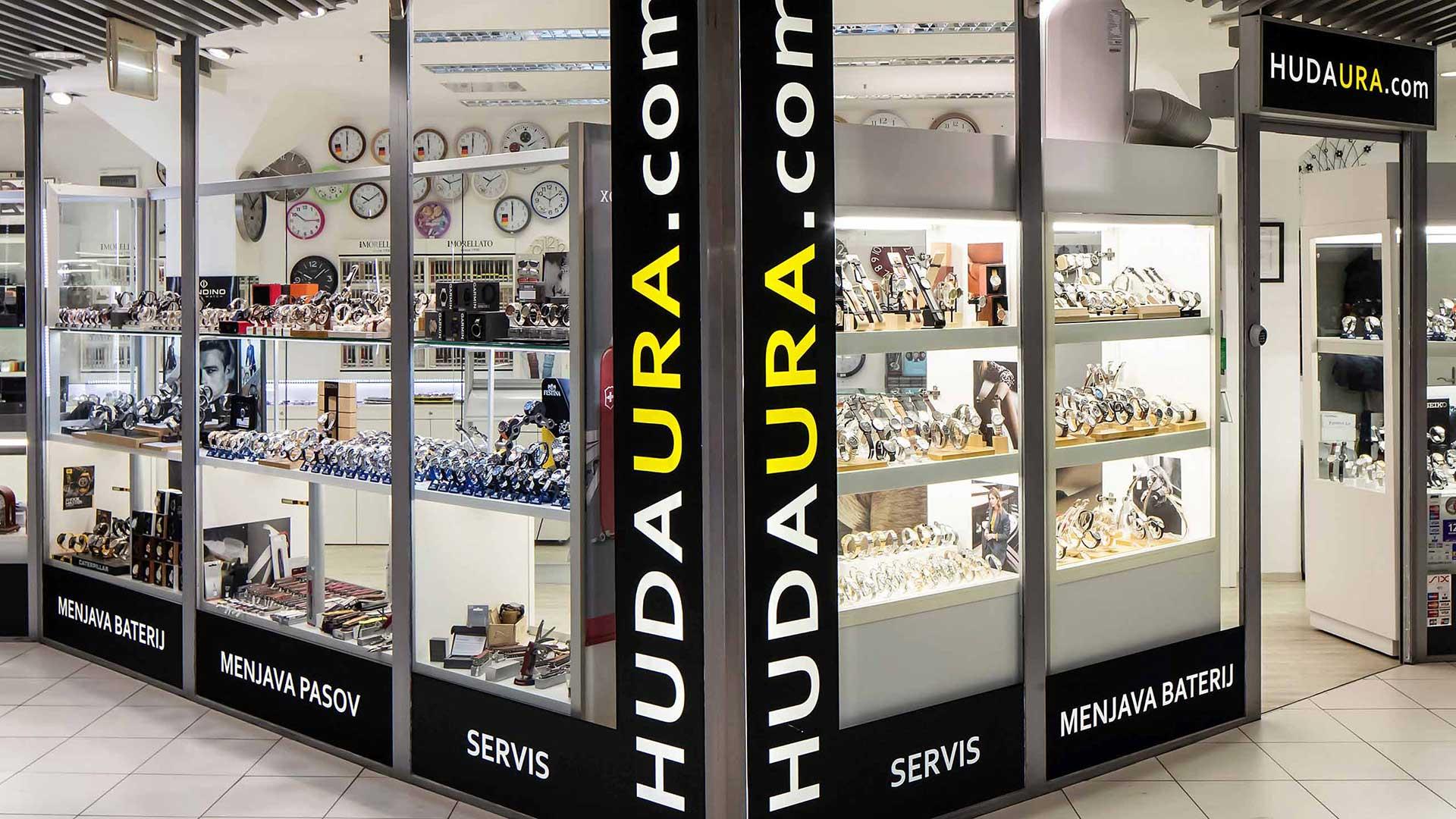 Hudaura.com, popravilo ur in nakita